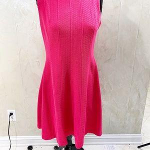 Just Taylor Fuschia Sheath Dress